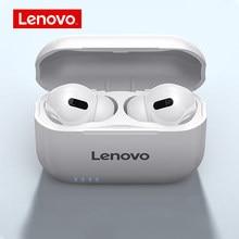 Lenovo LP1S Echte Draadloze Oordopjes Bt 5.0 Hoofdtelefoon Tws Stereo Koptelefoon Ruisonderdrukking Hd Oproep In-Ear Gebouwd-in Mic Headset