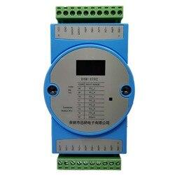 8-Kanaals Thermokoppel Type K Temperatuur Acquisitie Ingang Module 8-Turn Rs485 Modbus Isolatie Zender Dam-4702