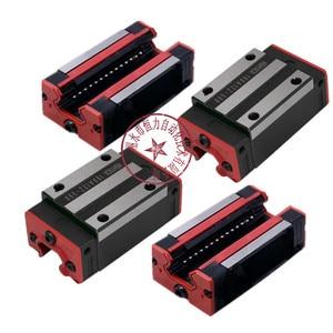 Image 2 - 4pc HGH20CA HGH15CA ליניארי צר carriges הזזה להתאים שימוש HIWIN HGR20/15 ליניארי מדריך ליניארי רכבת CNC חלקי diy