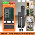 Laser Rilevatore di Livello di Ricevitore per Levelsure Livellamento Elettronico 2/5/12 Linee Verticale Orizzontale per il Rosso/Verde luce