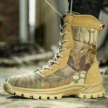 Vanmie buty wojskowe mężczyźni buty taktyczne armia wodoodporne buty wojskowe mężczyźni skórzane buty na pustynię dla mężczyzn buty wojskowe Outdoor tanie tanio Desert Boots CN (pochodzenie) Syntetyczny Połowy łydki Stałe Cotton Fabric Okrągły nosek RUBBER Zima Niska (1 cm-3 cm)