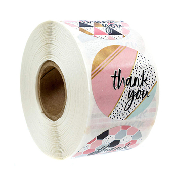 8 designs of thank you stickers seal labels 500pcs labels per roll sticker for package gift decoration stationery sticker 500pcs animal reward stickers with 8 cute thank you stickers seal lables for kidsback to school gift kindergarten toys sticker