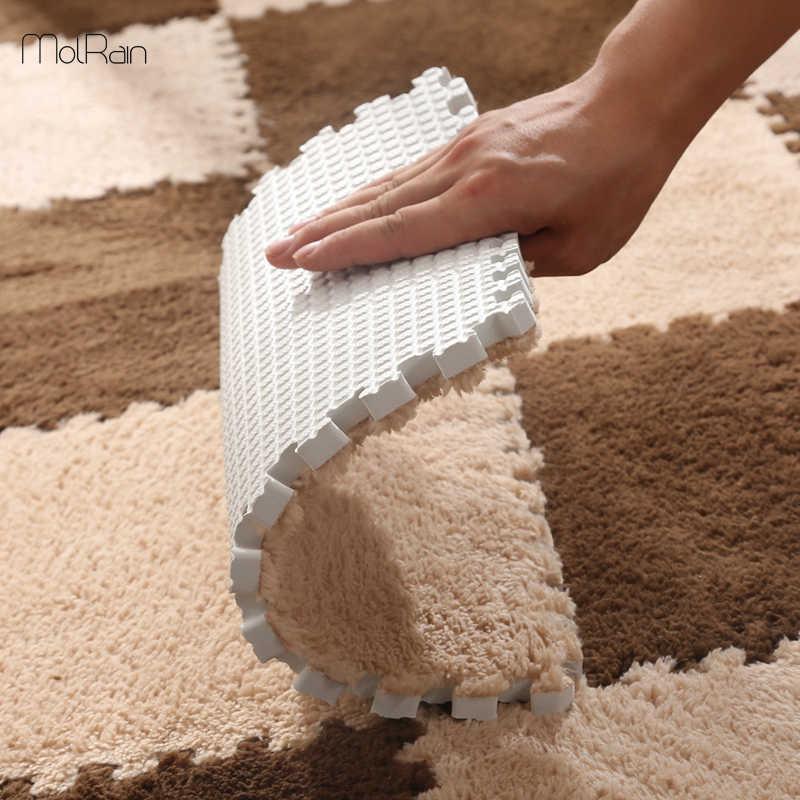 Floor Mat Carpet Plush Velvet Bedroom