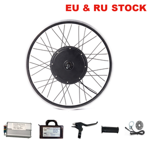 48V electric bike conversion kit front rear hub motor wheel drive 500W 1000W 1500W for ebike 20-29inch 700C MTB bicycle with LCD(China)