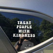 Car-Decal Waterproof Sticker Kindness Harry-Styles Treat-People Black/silver with Sticker/s748