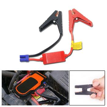 12v starter car jump battery clip connector emergency cable booster For universal battery clips jumper clamp Z1O0 image