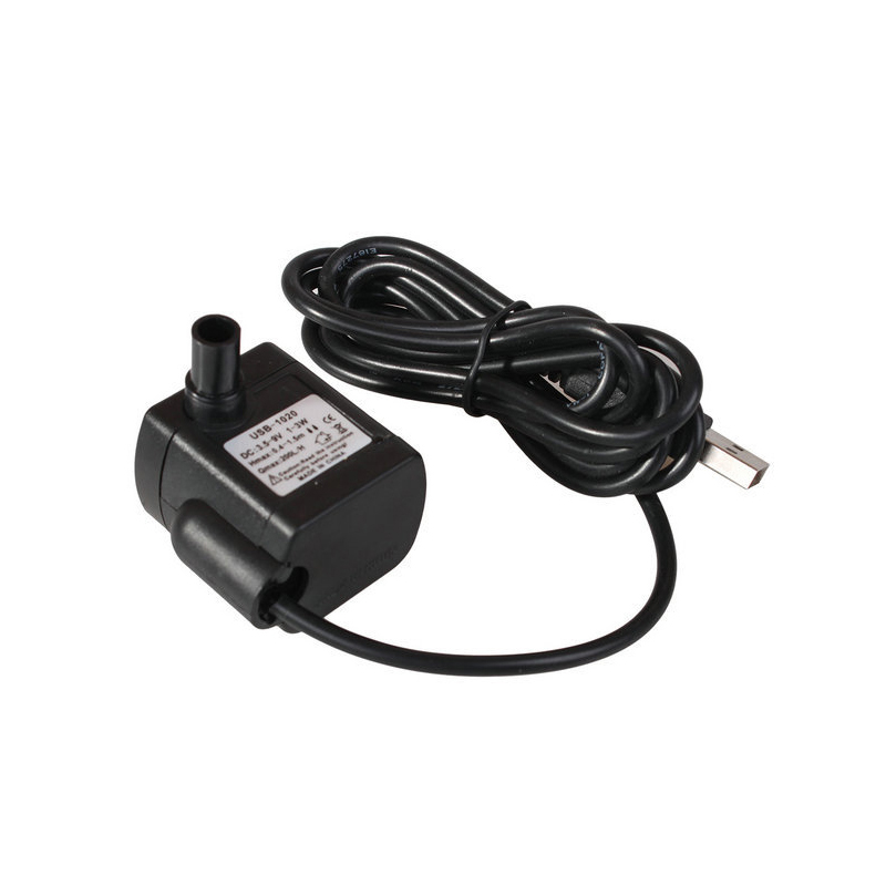 Supply USB-1020 Micro 3W Submersible Pump Computer USB Plug DC3.5~9V DC Brushless Water Pump