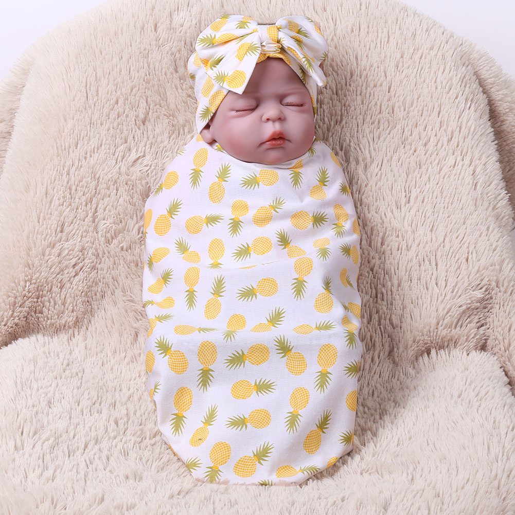 New Newborn Baby Bed Sheet Star Floral Printed Bedding Set For Newborn Crib Sheets Cot Linen 100% Cotton Printing Baby Blanket
