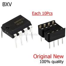 10PCS/LOT New NE555 NE555P NE555N 555 Timers DIP-8 8 Pin DIP Sockets /SOP-8 SMD NE555DR IC BXV