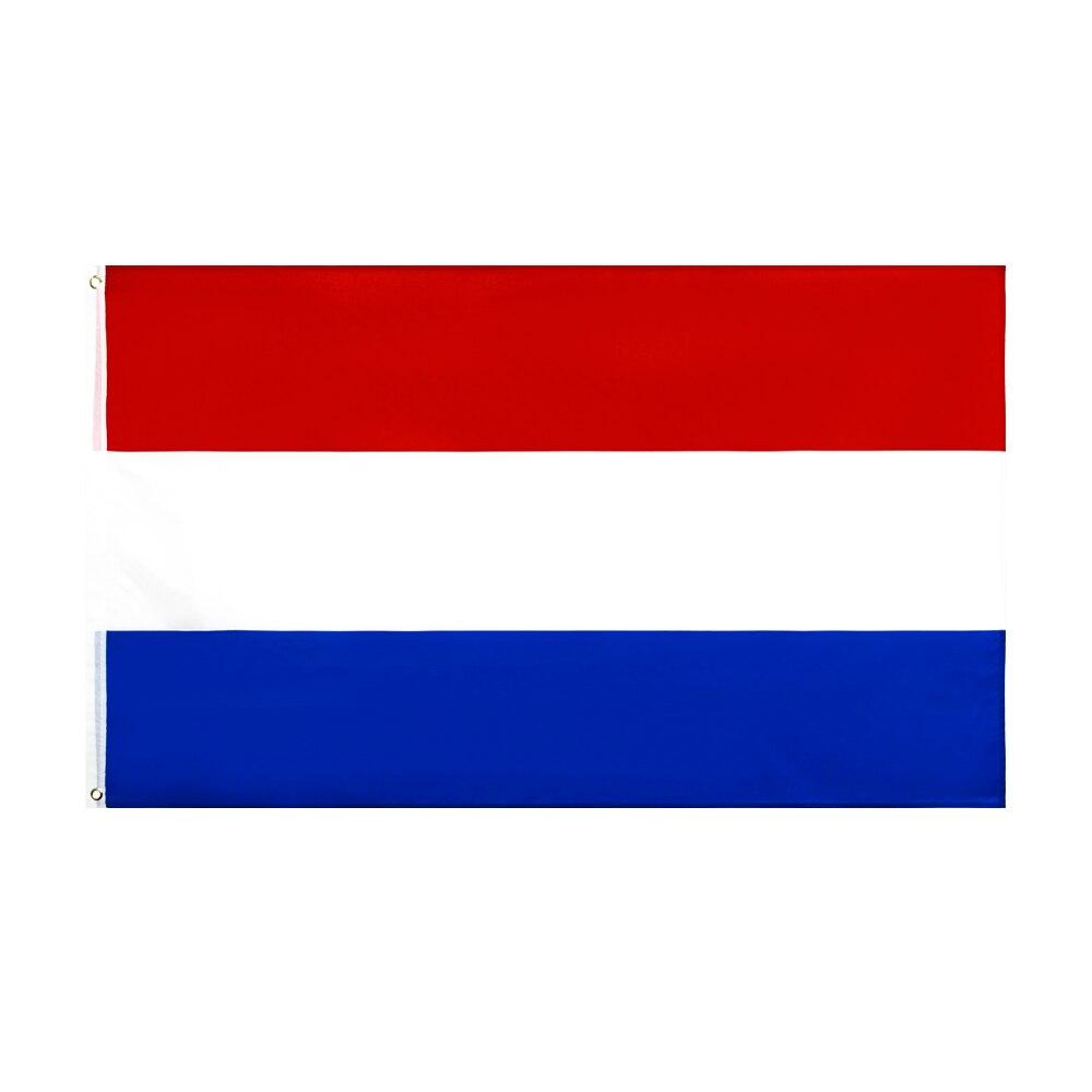 Флаг Нидерландов 60x90/90x150 см, полиэстер, Голландский национальный баннер
