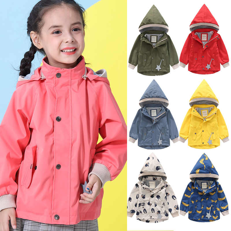 Kids jacket waterproof Autumn Winter Outerwear Velvet Warm Toddler boys coats 1-10 Years Kids Infant baby girl jacket Parka