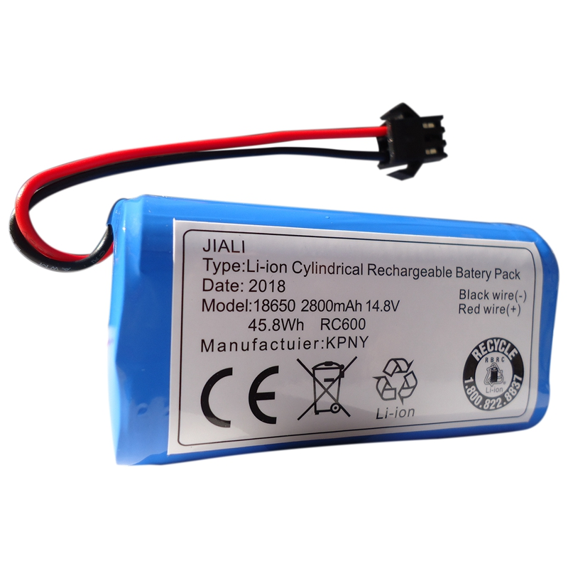 <font><b>14.8V</b></font> <font><b>2800MAh</b></font> Lithium Battery for Cobos Dibao Accessories Magic CEN360/361 DN620 DH35 43 45 BFD-Wsq Sweeper image