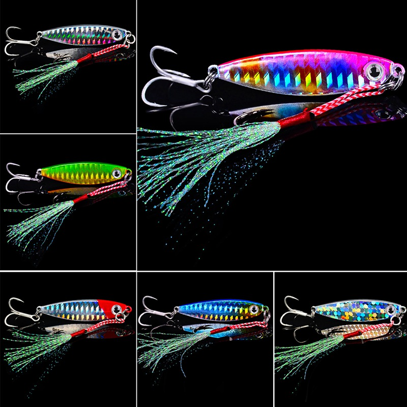 45PCS Jig Hook Fishing Hook 2.5g//3.5g//5g//7g//10g For Perch Pike Fishing