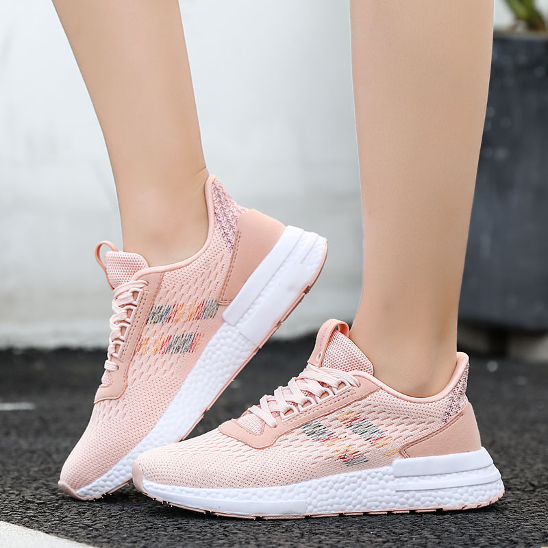 2020 Spring New Casual Shoes For Women Fashion Designer Lightweight Mesh Breathable Ladies Sneakers Zapatillas Deportivas Mujer