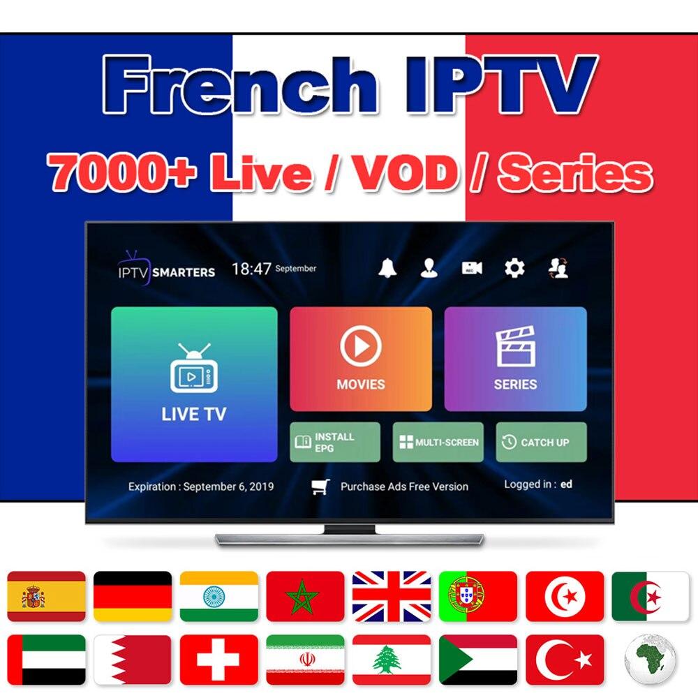 French M3U IPTV Subscription  For HD World Arabic IPTV Dutch 9000+Live/ Vod IPTV Sports /xxx Support Android M3u Enigma2 TV H96