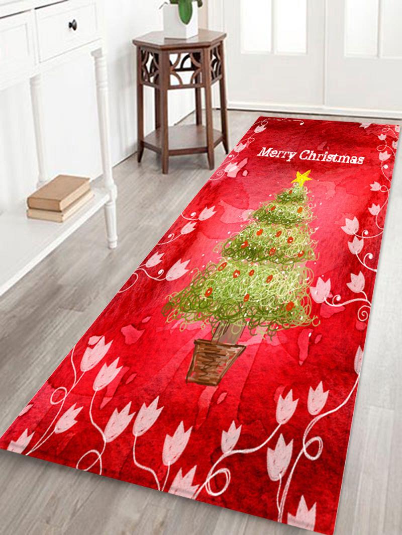 Red Lips Temptation Black Floor Carpet Non-skid Door Bath Mat Room Decor Rugs