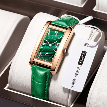 Luxury Malachite Green Watch