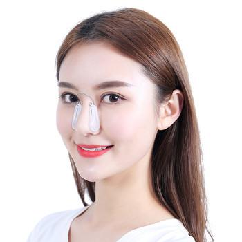 Nowy nos Shaper narzędzie do podnoszenia nosa urządzenie miękkiego silikonu typ nosa szczuplejsze wygodne przenośne narzędzie do podnoszenia urody tanie i dobre opinie NoEnName_Null Brak elektryczne Żywica Maszyna wykonana About 2 6*5 3cm Nose Shaper About 10g Soft Scilione Gel Nose Lift
