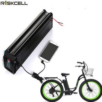 USB pescado de plata batería bicicleta eléctrica batería de scooter 48v 18ah...