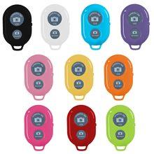Botão de controle remoto bluetooth sem fio controlador auto-temporizador câmera vara obturador liberação telefone monopod selfie para ios