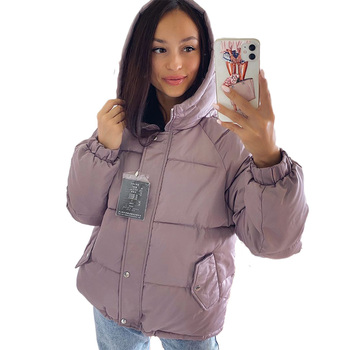 Winter women Parkas coat 2020 casual thicken warm hooded padded jackets Female solid colorful styled outwear snow jacket 1