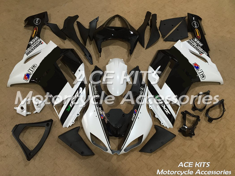 New ABS motorcycle <font><b>Fairing</b></font> For kawasaki Ninja <font><b>ZX6R</b></font> 599 636 2007 <font><b>2008</b></font> Injection Bodywor Any color All have ACE No.261 image