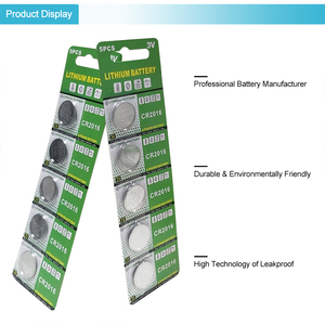 Image 3 - PUJIMAX 5pcs/pack CR2016 Lithium Battery 3V LM2016 BR2016 ECR2016 toy watch computer LED light coin disposable button battery