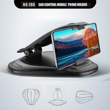 Clip Car Phone Holder Mount Auto Vehicle GPS Support Bracket