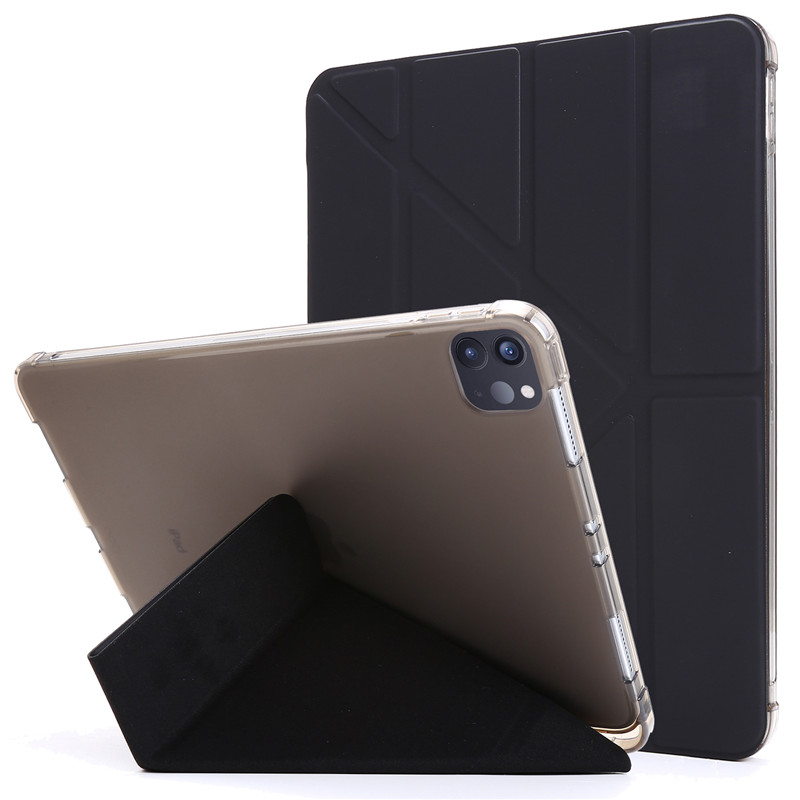 For iPad Pro 11 2020 Case PU Leather Soft Back Slim Smart Tablet Funda For iPad