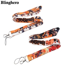 CB238 Wholesale 20pcs/lot Volleyball Boys Anime Key Lanyard ID Badge Holder Multifunction Cell Phone Key Strap Rope Neckband