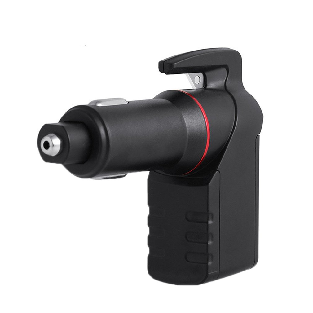 Multi-function Window Breaker Self-help Safety Hammer with Car Charger Usb Mobile Phone Charger Anti-overheat