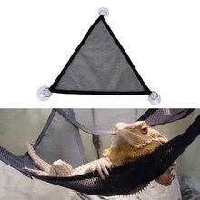 2 шт ящерица лазания продукты с присосками Pet Гамак сетки спальная кровать играть игрушки для рептилий Змея