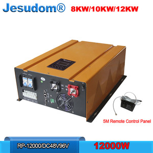 12KW Inverter 220V Single Phase Output Built-in U Type Transformer Combined with AC Charger and UPS