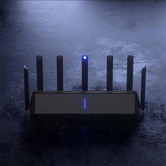 Novo xiaomi ax3600 aiot roteador wifi 6 5g wifi6 600 mb de banda dupla 2976mbs gigabit taxa qualcomm a53 amplificador de sinal externo 2