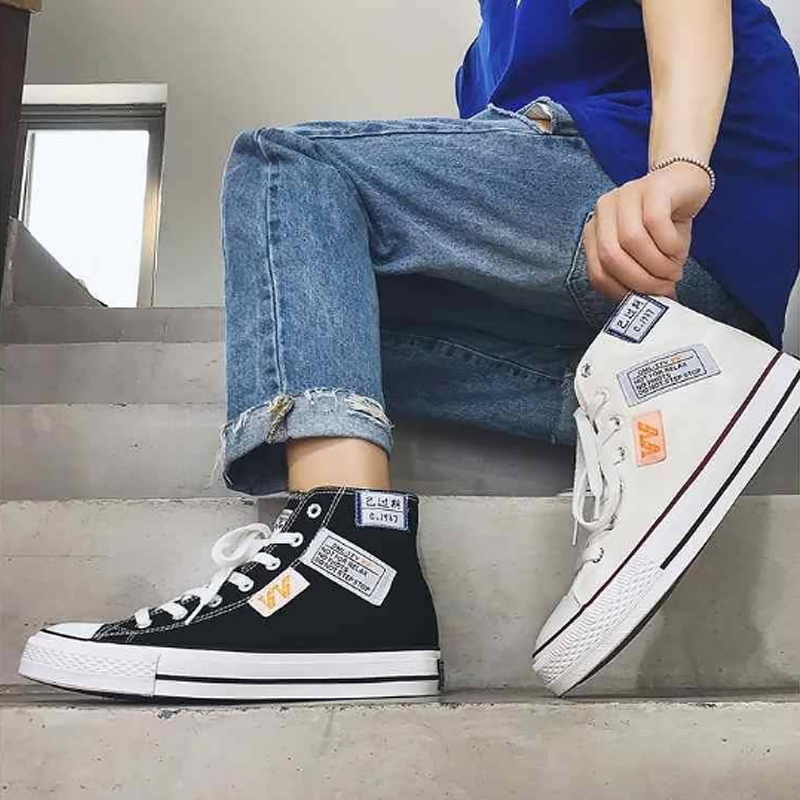 High Top Sneakers Men's Spring Shoes
