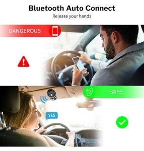 Image 2 - Deelife Handsfree Bluetooth Car Kit Sun Visor Speaker Auto Wireless Speakerphone Carkit for Phone Hands Free