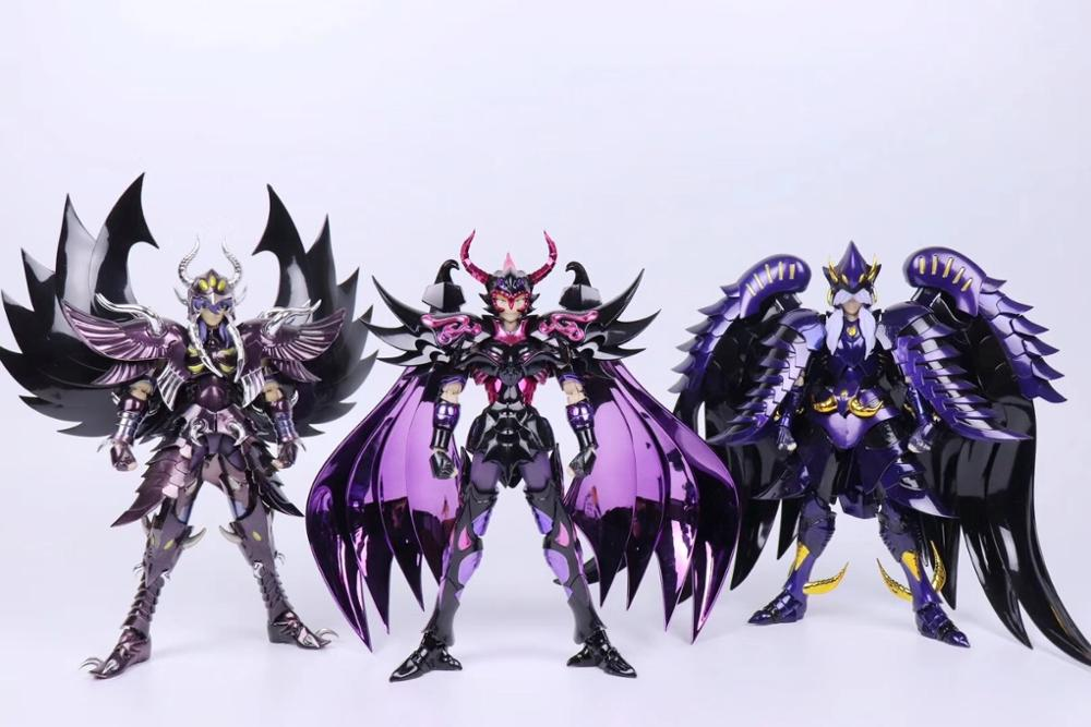 New Arrival Chuanshen Cs Saint Seiya Specters EX Garuda Aiakos Minos Rhadamanthys Action Figure Cloth Myth Metal Armor