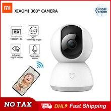 Xiaomi-cámara IP inalámbrica Mijia HD 1080P para seguridad del hogar, videocámara de ángulo de 360 grados, WiFi, IR, visión nocturna, Original