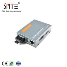 HTB GS 03 20km netLINK 1000M modalità singola doppia fibra 20km gigabit WDM In Fibra di Media Converter
