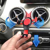Support magnétique universel de bâti de gravité de téléphone pour le support de support de Navigation de téléphone portable d'évent de voiture de classe A de Benz GLA CLA