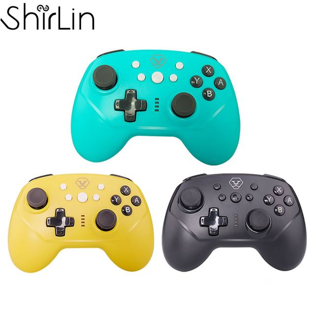 for N Switch Pro / Switch Lite Gamepad Games Controller Bluetooth Wireless 3.7V 600MAH Joysticks Game Controller Gamepad