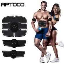 Fitness Abdominal Muscle Trainer EMS Electric Press Stimulator Slimming Machine