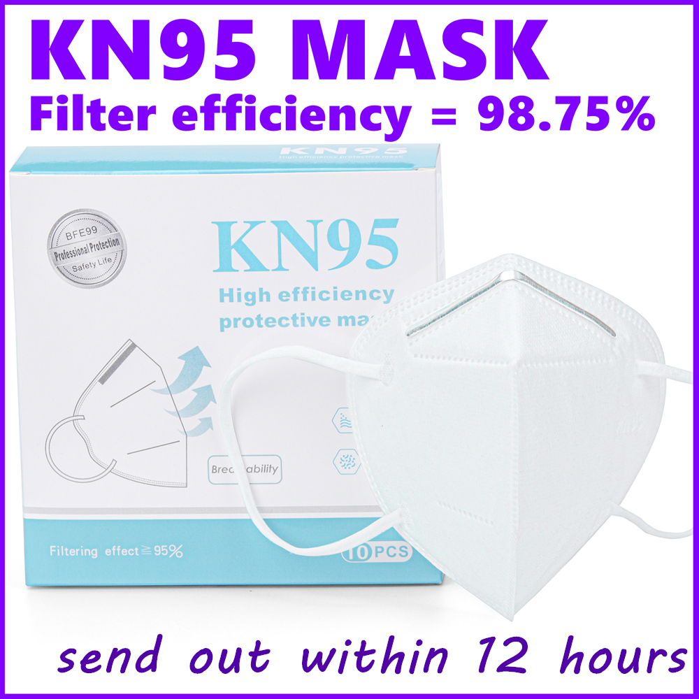 Kn95-g83626-2008-mask 5 Layers Ear Loop Covers Non-Woven Anti-dust Protective Face Covers Earloop Ship To Usa In Stock