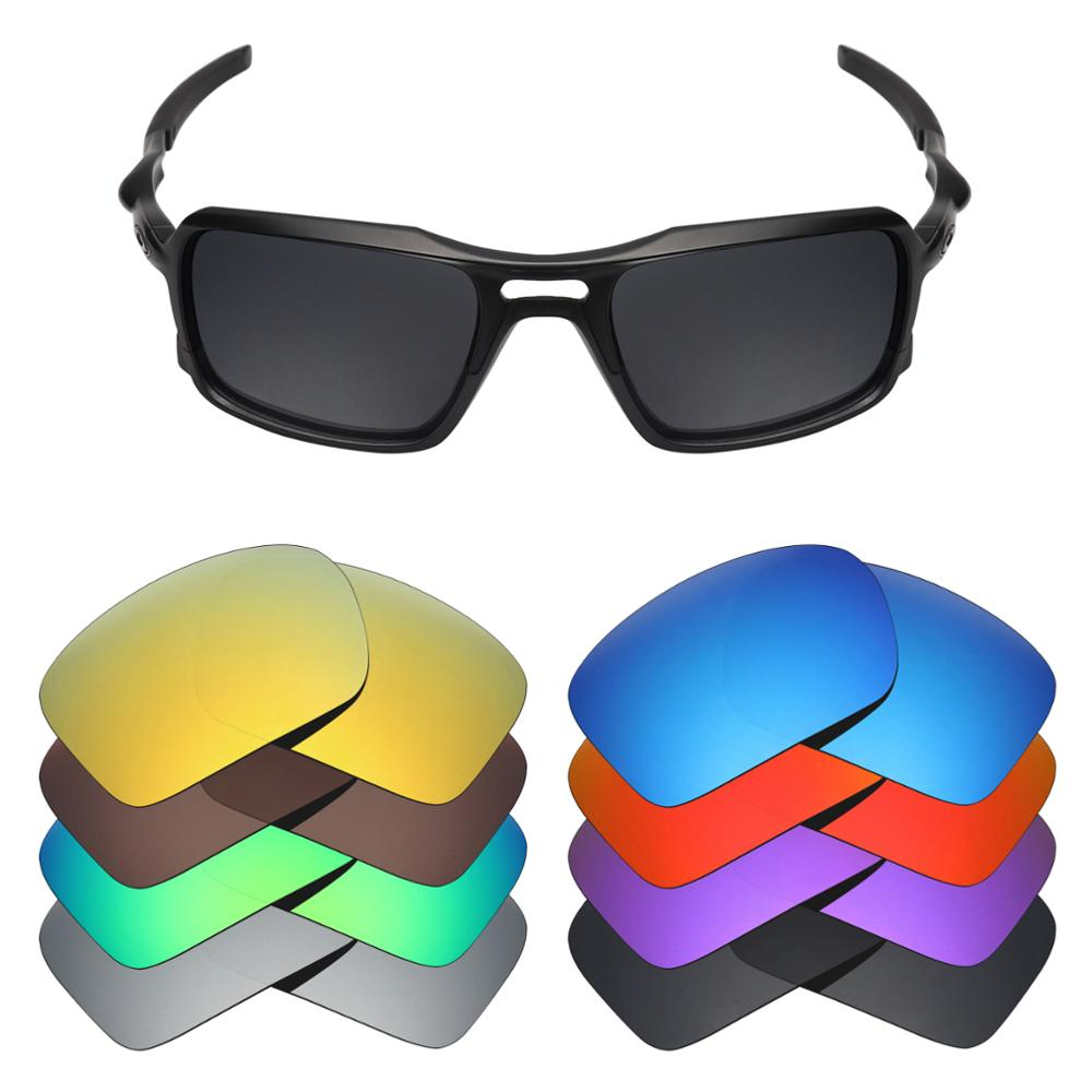 Mryok Polarized Replacement Lenses For Oakley Triggerman OO9266 Sunglasses Lenses(Lens Only) - Multiple Choices