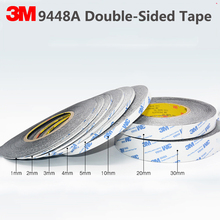 Car Adhesive-Tape Double-Sided 3M Strong Mobile-Phone-Repair Black 9448AB 50meters/Roll