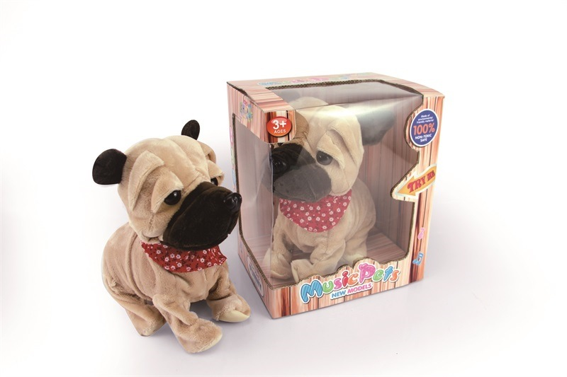 Children Pet Toy Voice Electric Dog Electric Plush Toys Singing Motion Machinery Toy Dog