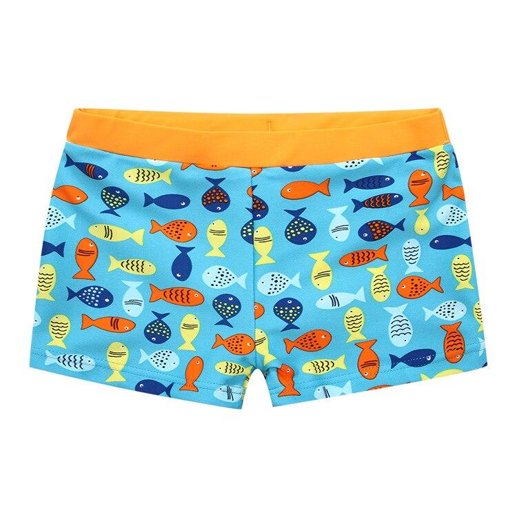 New Style Asian Tassel Children Beautiful Fish Boxer Kids Swimming Swimming Trunks Bubble Hot Spring Swimming Trunks