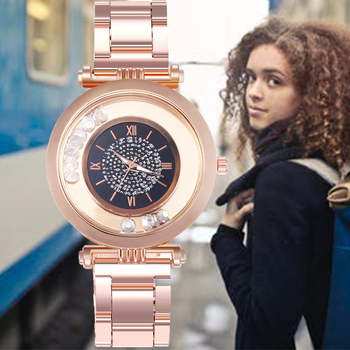 2020 New Fashion Luxury Brand Alloy Quartz Wristwatch Ladies Dress Rhinestone Watch Women Watches Reloj Mujer Montre Femme Clock montre femme women watches luxury rhinestone pearl ore glass dial magnet alloy ladies watch roman clock quartz watch reloj mujer