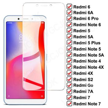Szkło hartowane 11D dla Xiaomi Redmi 6A 7A 5A 5 Plus 4X osłona ekranu Redmi uwaga 4 4X 5 5A 6 7 Pro folia ochronna tanie i dobre opinie VGCJOK FOLIA HD TEMPERED GLASS Przezroczysty Folia hartowana CN (pochodzenie) Folia na przód HD Protection Glass For Xiaomi Redmi 6