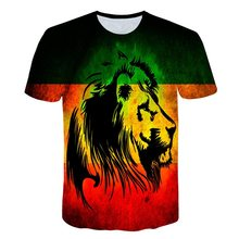3d T-shirt Animal Lion Shirt Camiseta 3d T Shirt Men Funny T Shirts Mens Clothing Casual Fitness Tee Topr Fashion Casual Tops